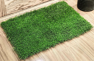 Unusual Benefits Of Artificial Grass Bath Mats - Rubber backed bath mats for bathroom decorating ideas